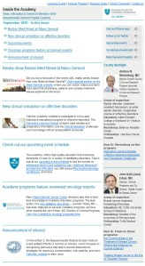 Mass General Newsletter After